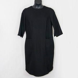 Eloquii Exposed Zipper Sheath Dress Career 2108X